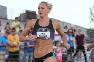 Beckwith took third at USAs last week