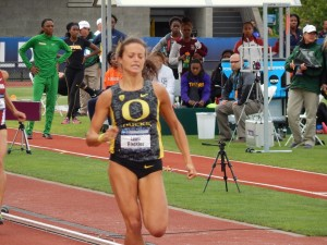 Roesler was unchallenged once she made her move at NCAAs