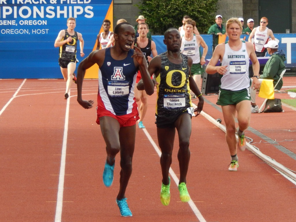 Cheserek and Lalang Battled in the Greatest NCAA 5000 Ever
