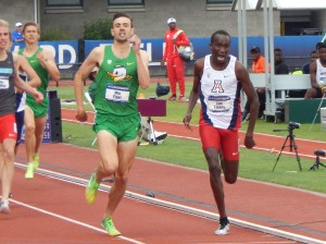 Mac Fleet vs Cheserek NCAA 2014 1500