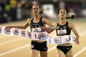 Huddle barely held off Rowbury over the final meters at USAs
