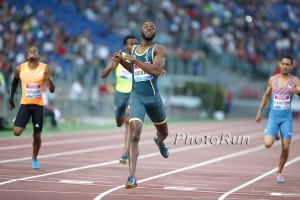 LaShawn Merritt Wins in Rome