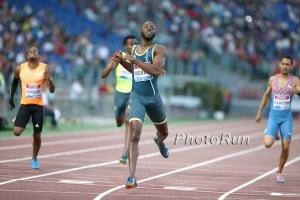 LaShawn Merritt Wins in Rome