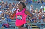 Pregnant Alysia Montano Runs at USA Nationals