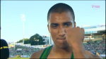 Ashton Eaton was pumped to win the 400h