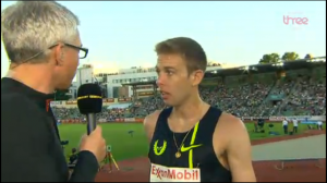 Galen Rupp talks to the BBC's Jonathan Edwards