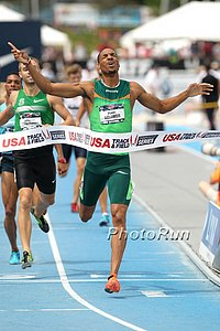 Solomon celebrates as he wins USAs in 2013