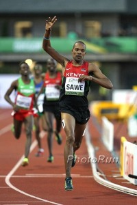 Sawe With Gold for Kenya