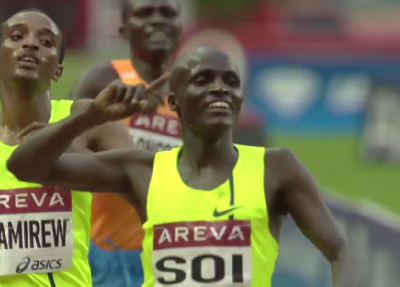 The only sub-13:00 of 2014: Edwin Soi wins in Paris