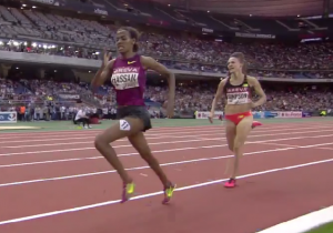 Jenny Simpson Battled Down the Homestretch