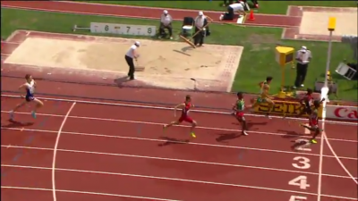 Joseph just couldn't close the gap in the final 100