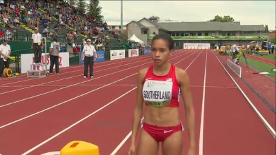 Southerland was the lone U.S. mid-d runner to advance on Day 1