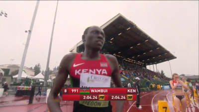 How fast will Wambui go in tomorrow's final?