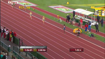 Wambui held off Diago and everybody else over the final 100