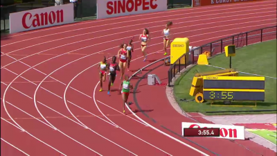 Seyaum would hold her lead over the final 100