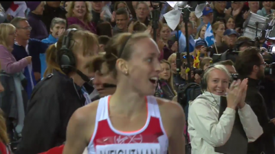 Weightman was overjoyed with her silver medal performance