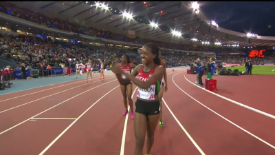 Kipyegon was pleased with her victory, though her Kenyan teammates were less than thrilled with their own performances.