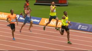 Isaac Makwala wins