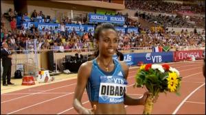 Dibaba Wins
