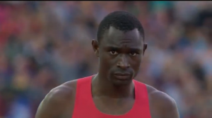 Rudisha had his game-face on before this one