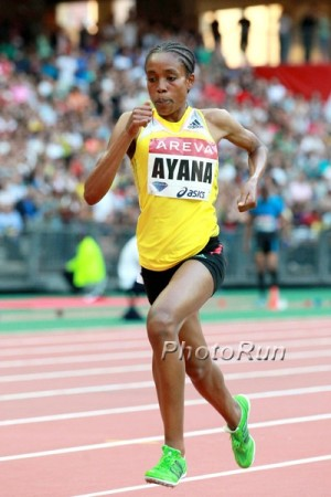 Ayana came within four seconds of the 5k WR in '15; can she break it this year?