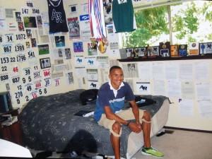 Jordan McNamara,showne here during his senior year of HS, has long been a big fan of the sport