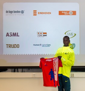 Komon's debut should be interesting. Paul Raats Photography for Marathon Eindhoven.