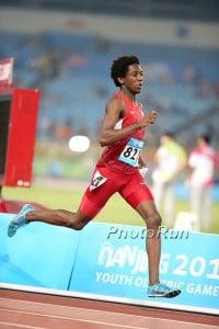 Miles at World Youth Olympics