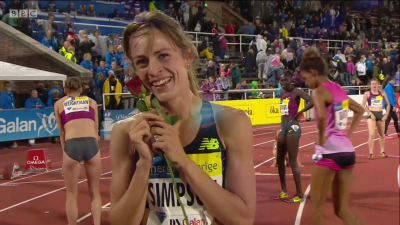 Could Simpson become just the second American distance runner to win a Diamond Race title?