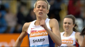 Lynsey Sharp closed her eyes and went all out for victory
