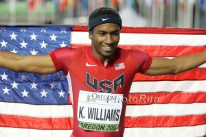 Kendal Williams -  A sprinter you can believe in? *More Kendal Williams Photos