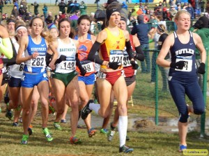 Crystal Nelson improved 160 places in 2013 to finish 32nd at NCAAs. That' improvement has continued on into 2014.