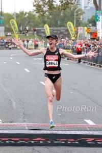 Deena Kastor Makes History in Philly