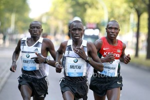 Emmanuel Mutai Made the 2014 World Record Race in Berlin