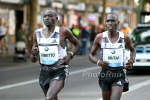 Dennis Kimetto and Emmanuel Mutai in Berlin (Full photo gallery coming)