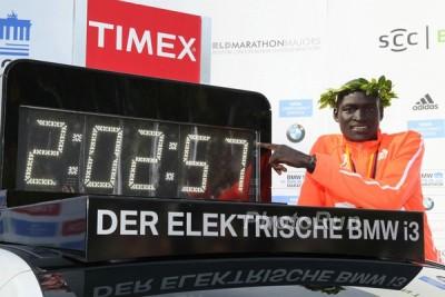 2:02:57 World Record for Dennis Kimetto in the Marathon