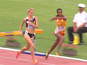 Ayalew Stumbles Over Final Barrier