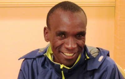 Eliud Kipchoge in Chicago (photo by David Monti)