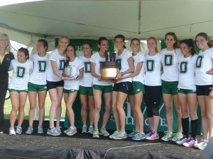 Last year Dartmouth was on top. Can they do it again? *More 2013 Ivy League XC Photos