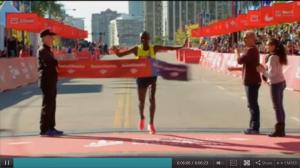 Eliud Kipchoge wins 2014 Chicago