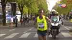 Bekele en route to victory in Paris in April.