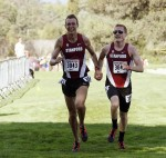 Maksim Korolev and Joe Rosa at the Stanford Invitational