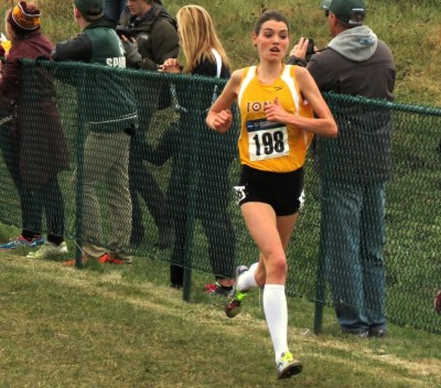 Can Avery's XC mastery translate to the track? (photo by David Monti for Race Results Weekly)