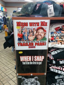 The local gas station had some awesome tshirts