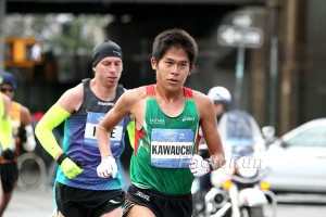 Kawauchi Leading New York