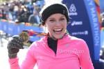 Caroline Wozniacki NYC Marathon Finish