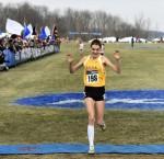 Kate Avery Win NCAAs. Photo via TrackandFieldPhoto.com https://twitter.com/TnFphoto/status/536235128809607168