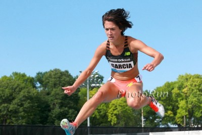 Garcia broke out with a 13-second pb in New York on June 14, eventually getting down to 9:24.28 in Glasgow.