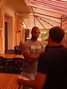 Tyson Gay in Lausanne Days Before He Tested Positive