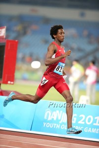 Myles Marshall at 2014 Youth Olympics